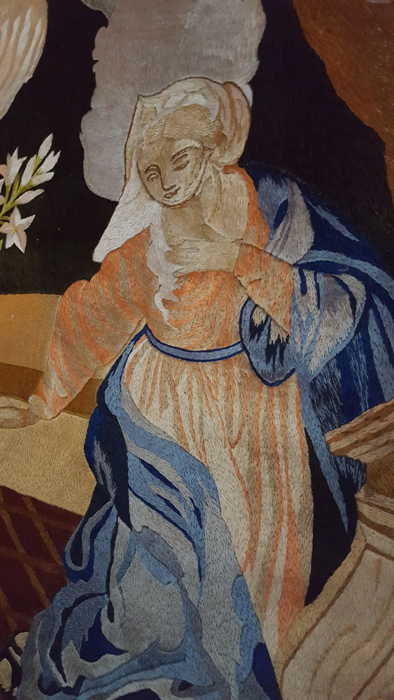 Close up of Tapestry