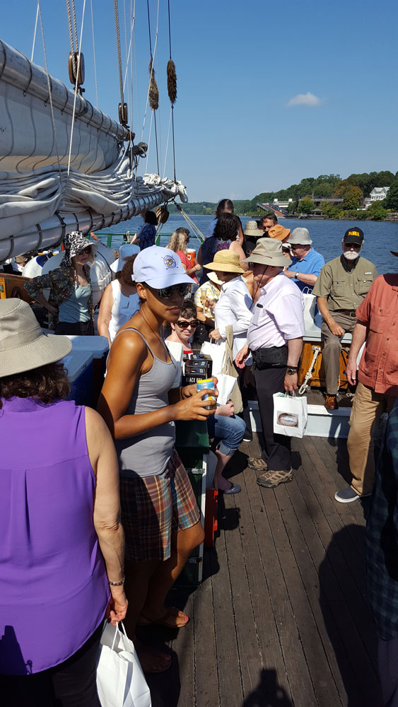 Guests on the Clearwater