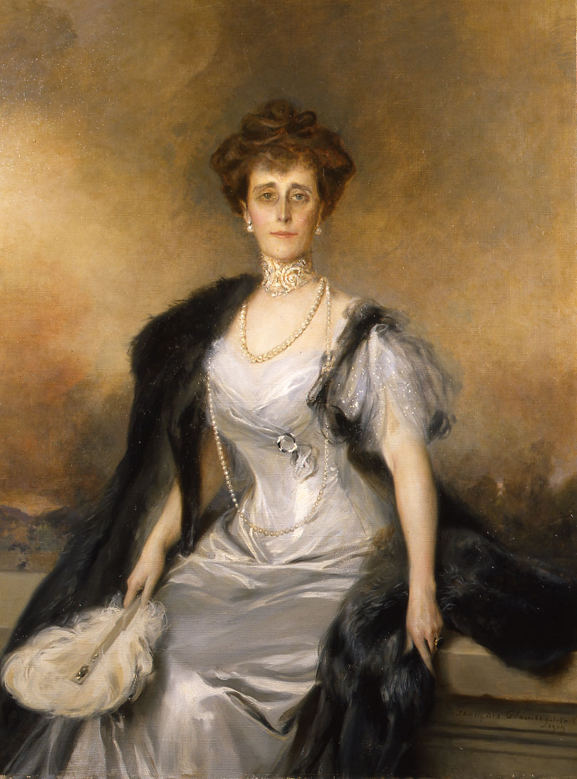 Portrait of Mrs. Mills