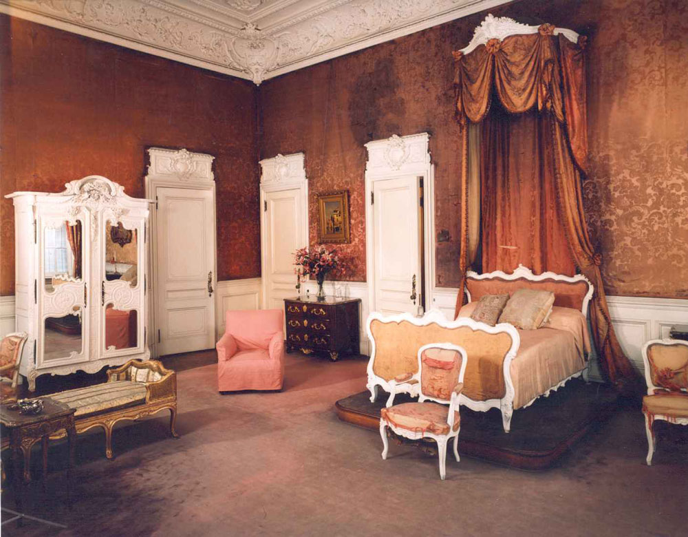 Mrs. Mills Bedroom Before the Restoration