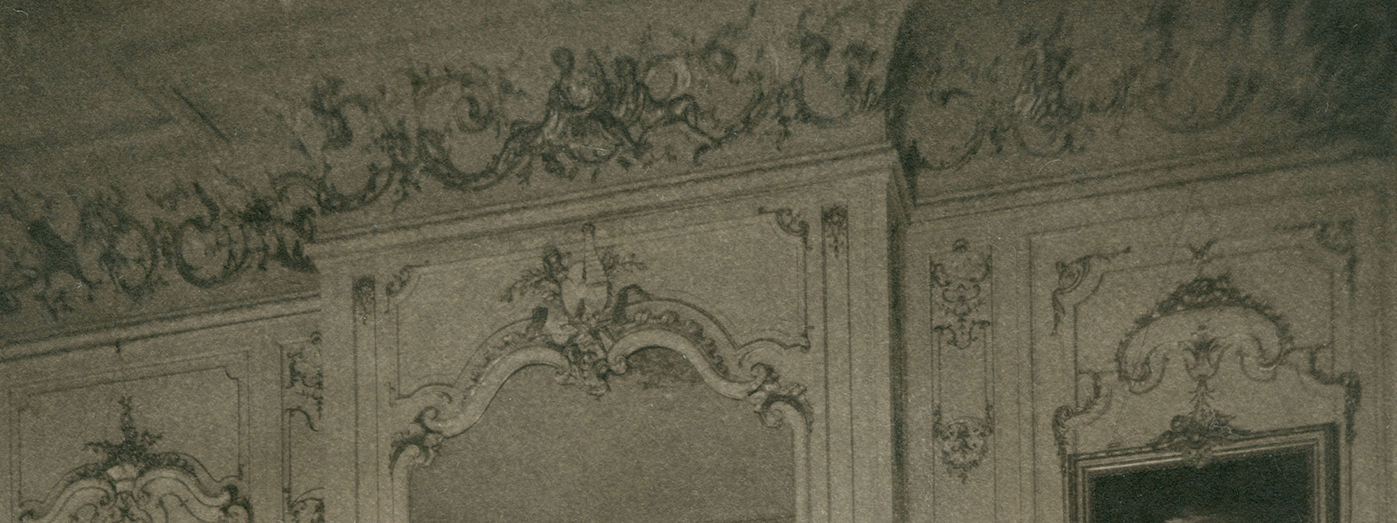 details from inside the mansion