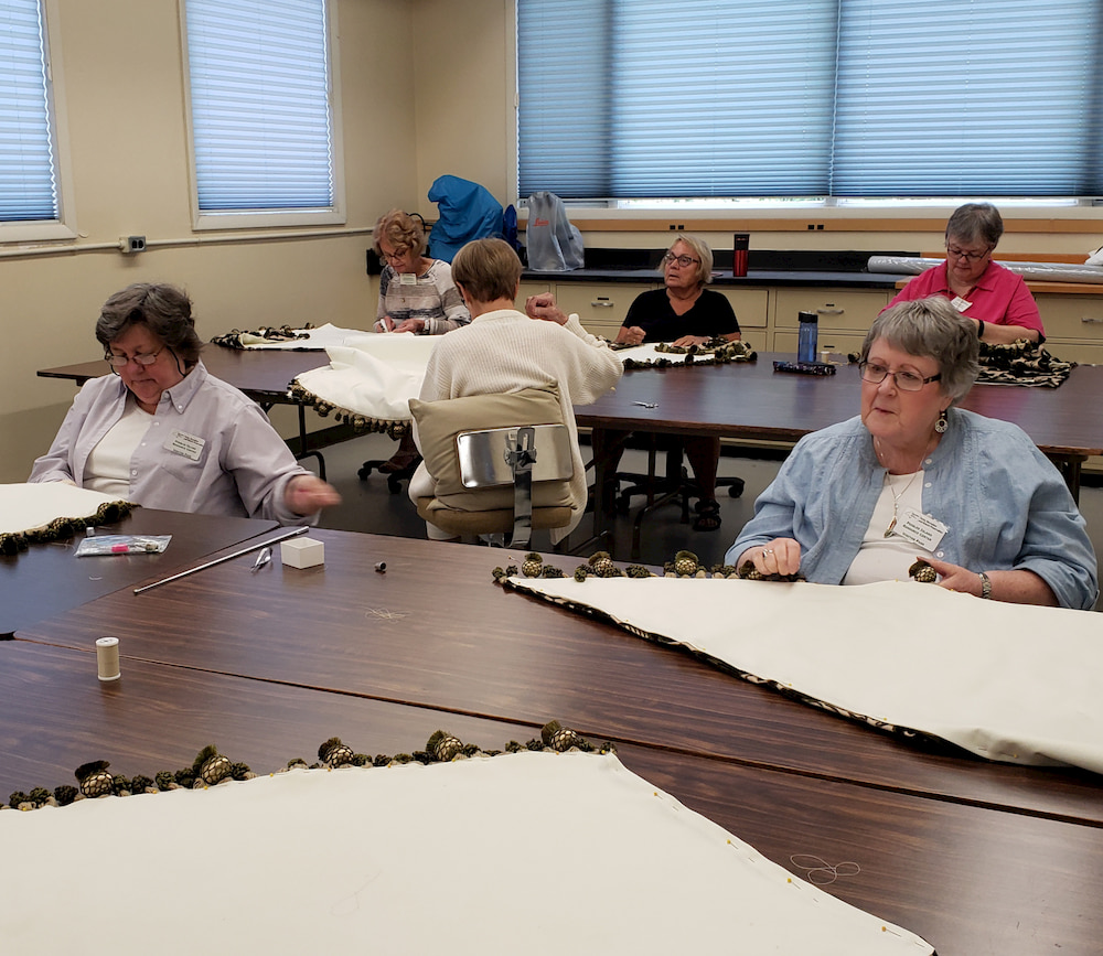 Embroiderers' Guild of America Volunteer Stitchers