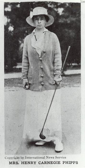 Gladys Golfing at Dinsmore