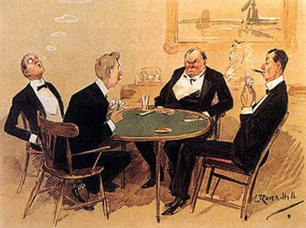 Titanic First Class Card Playing